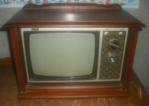 tube tv from 1980